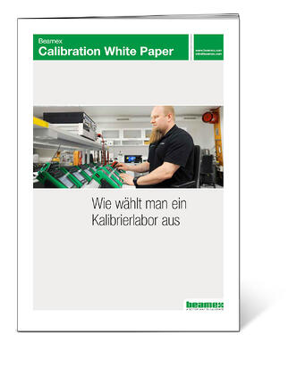 Beamex White Paper: Wie wählt man ein Kalibrierlabor aus