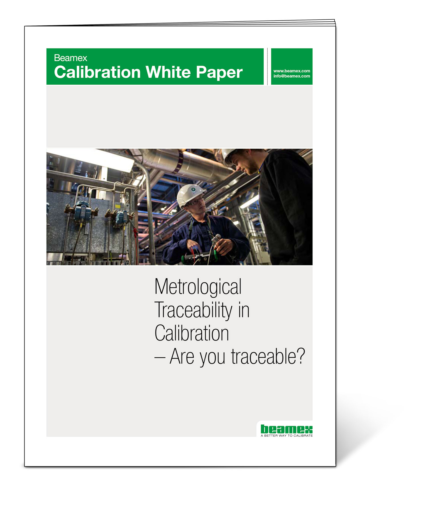 Are you traceable - Beamex white paper