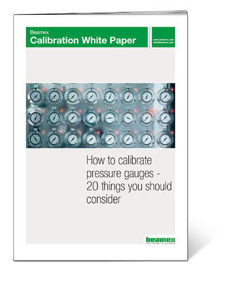 How to calibrate pressure gauges - Beamex white paper