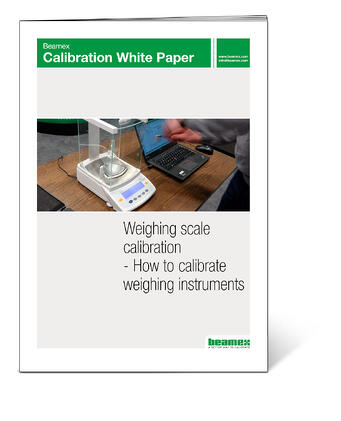 Weighing scale calibration - How to calibrate weighing instruments. Beamex white paper