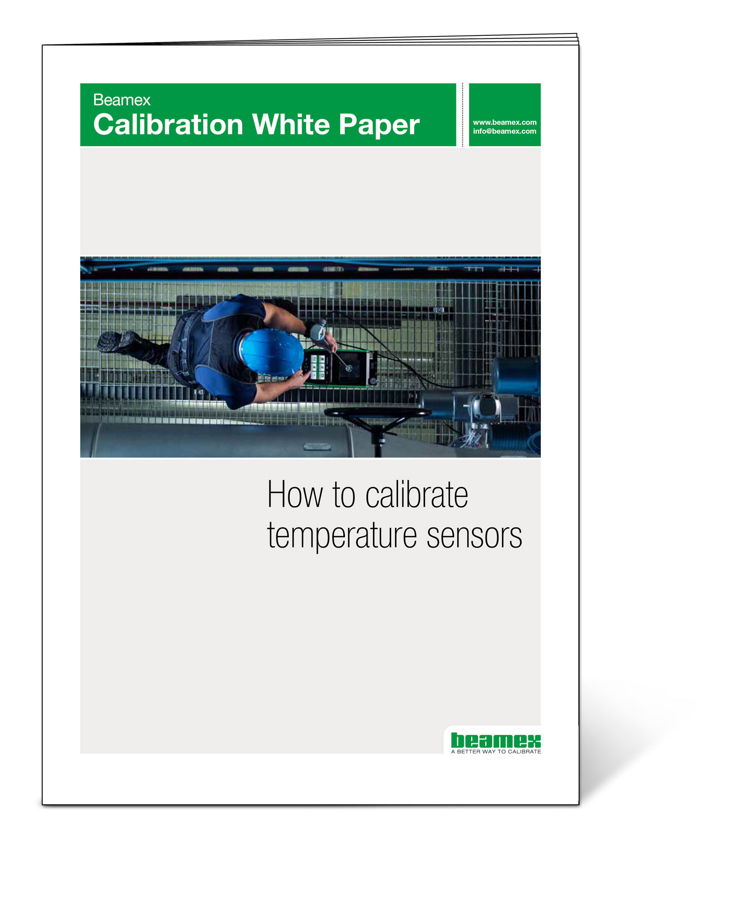 How to calibrate temperature sensors  - Beamex White Paper