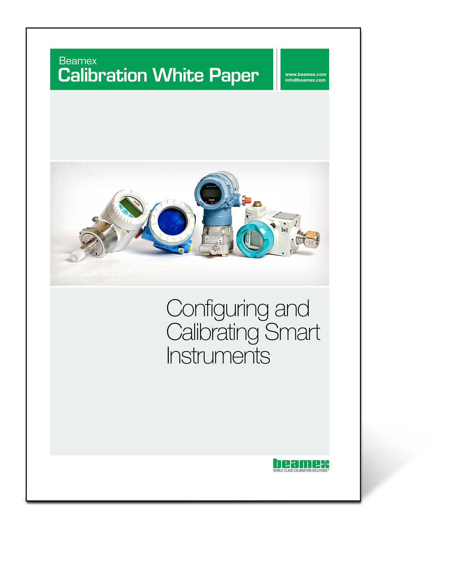 Beamex Calibration White Paper - Calibrating smart instruments