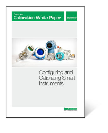 Beamex Calibration White Paper - Calibrating smart instruments