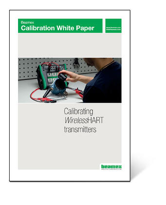 Beamex Calibration White Paper - Calibrating wirelessHART