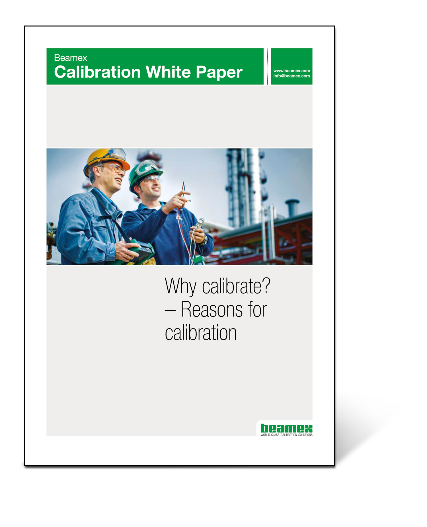 Why Calibrate - Beamex White Paper