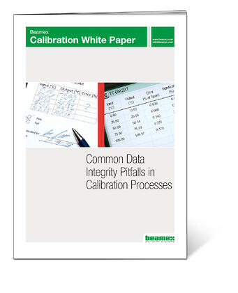 Beamex white paper - Common data integrity pitfalls