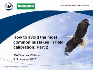 ISA Beamex Webinar